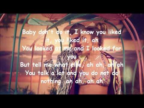 Jennifer Lopez, Bad Bunny  - Te guste letra/english lyrics