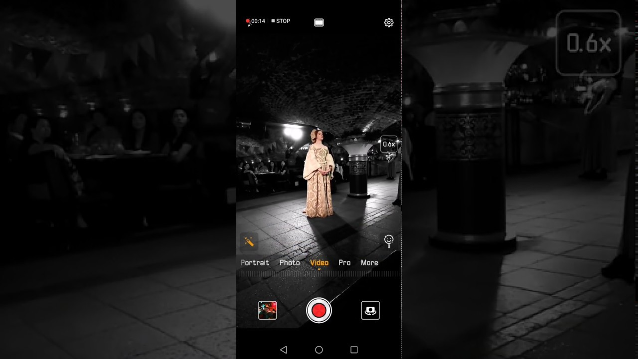 Huawei Mate 20 Pro AI Cinema effects preview