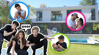 WE BROKE INTO The Royalty Family NEW HOUSE!!! **GOT CAUGHT SPYING ON THEM**💯| Piper Rockelle