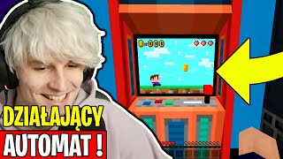 AUTOMAT DO GIER w MINECRAFT! 😲 - 𝐌𝐈𝐍𝐄𝐂𝐑𝐀𝐅𝐓'𝐎𝐖𝐘 𝐏𝐑𝐙𝐄𝐆𝐋Ą𝐃