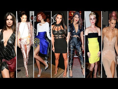 Met Gala 2018 ► After-party Dresses | Celebrity Fashions