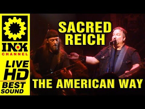 SACRED REICH - The American Way [21/8/2017 Thessaloniki Greece]