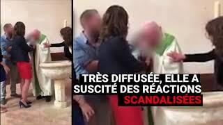 La vidéo d'un prêtre giflant un enfant embarrasse l'Eglise