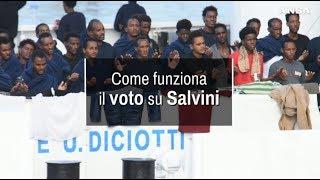 Caso Diciotti, come funziona il voto su Salvini
