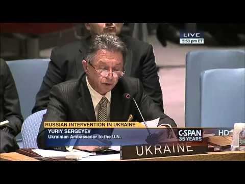 Rights of Russians in Ukraine vs Ukrainians in Russia, - Ukraine Ambassador to UN.
