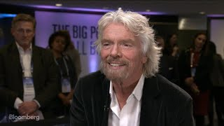 Richard Branson on Brexit, Space Race and Hyperloop