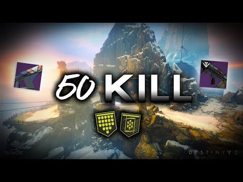 Destiny 2 - 50 KILL + 30 STREAK Gameplay!!! [INGREDIENTE PRINCIPALE + FORNACE ESPLOSIVA] thumbnail