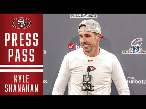 Kyle Shanahan Reacts to NFC Championship Victory | 49ers