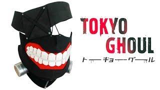 MÁSCARA DE KANEKI DIY | TOKYO GHOUL | CÓMO HACER MÁSCARAS | MANUALIDADES RECICLAJE | Te Digo Cómo