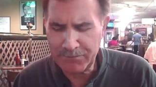 Steve Longo Enjoys A Romanian Tenderloin And Hot Apple Strudel At Harold's Ny Deli In Lyndhurst, Nj