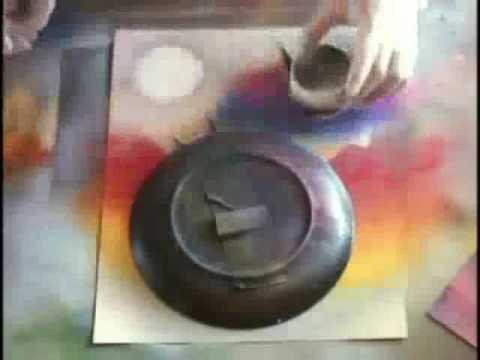 Ve tranh airbrush