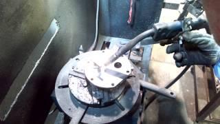 菱光産業の自動溶接