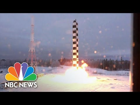 President Vladimir Putin Says Russia's New Nuclear Weapons Can Evade All Defense Systems | NBC News