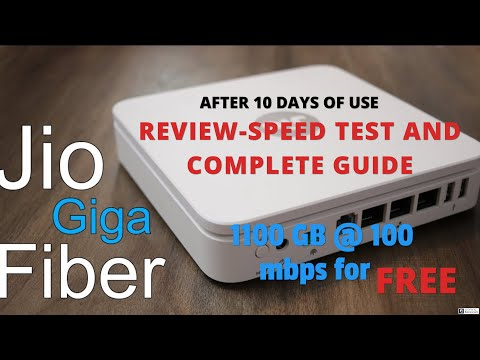 Jio Giga Fiber Broadband - (A TO Z) Review in tamil - 1100 GB@ 100 MBPS FREE |5G high speed internetKaynak: YouTube · Süre: 6 dakika13 saniye