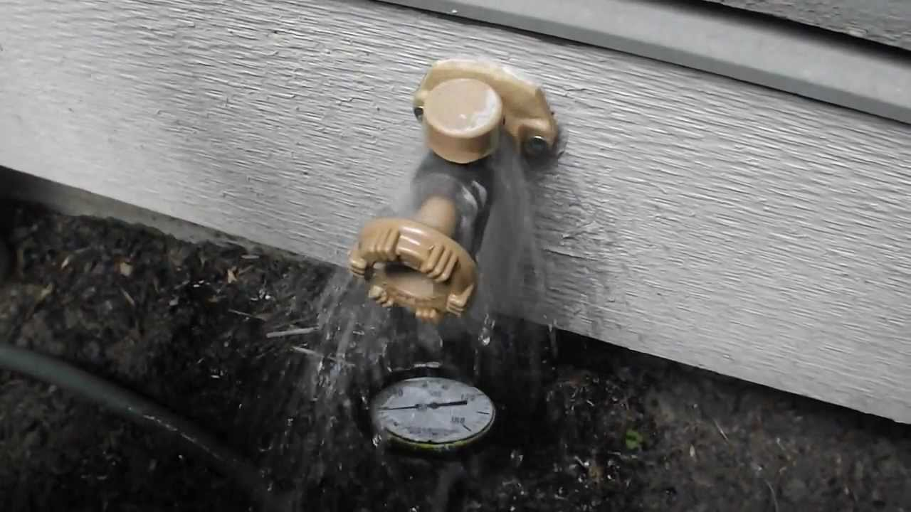Hose Bibb Leak (Vacuum Breaker) - YouTube