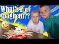 Yeti in My Spaghetti Challenge!!