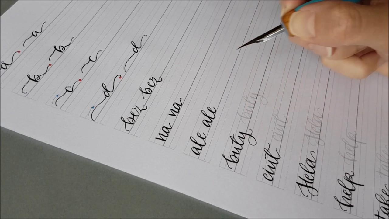 kaligrafia szablony pdf chomikuj