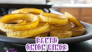 Fat-free Baked Onion Rings