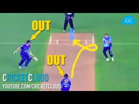 BOTH Batsman OUT on Same Ball - Which one should have given out?