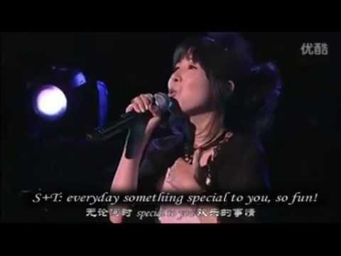Sakura Tange (cardcaptor) Iwao Junko Live concert at clamp festival 2011