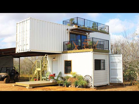 Amazing Crafts Stackem Custom Container Home for Sale by Backcountry Containers