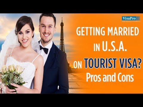 Can Get Married On Tourist Visa To Us Citizen