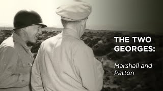 Cover images The Two Georges: Marshall and Patton