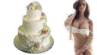 Стриптизерша из торта!