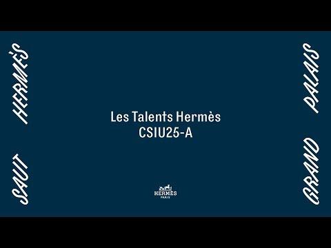 Saut Hermès 2019   Les Talents Hermès CSI25-A – Class 9