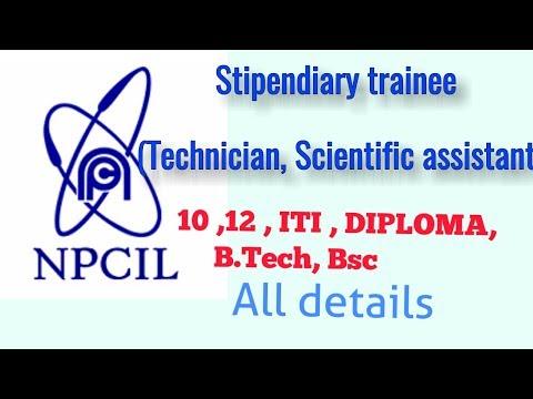 Nuclear power corporation ltd (B.TECH,DIPLOMA,12th)