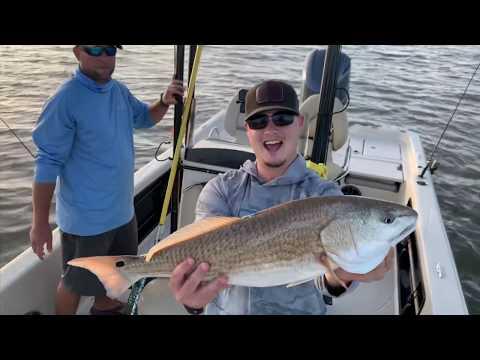 Redfish In Venice Louisiana:  Fishing With CAJUN HOOKERS