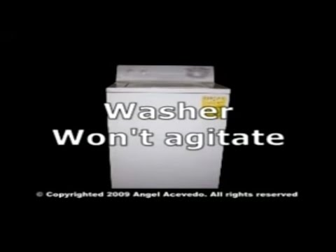 Not agitating GE washer