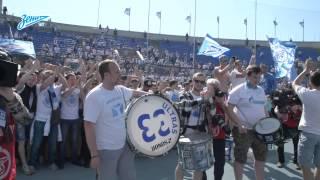Кубок на «Петровском»: «Зенит» отпраздновал победу с болельщиками (полная версия)