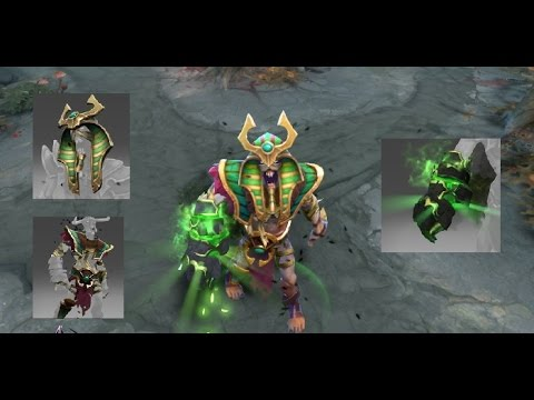 dota 2 undying mix set pale augur immortal dirgeful overlord youtube