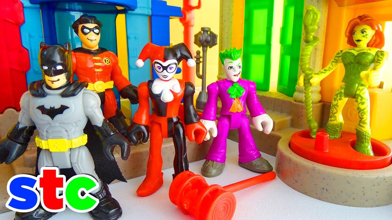 5dde66622f3e Imaginext DC Super Friends Joker abandona Harley Quinn - YouTube