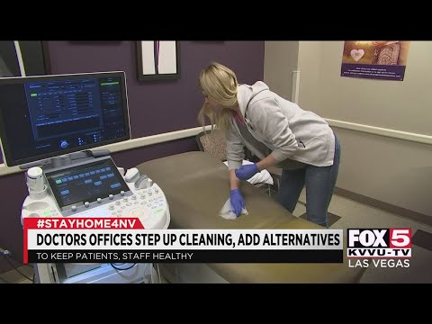 Las Vegas Valley doctors offices are adjusting office policies for patients