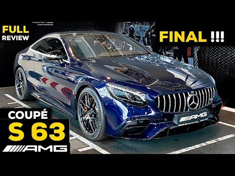2020 MERCEDES AMG S63 Coupé V8 FINAL Full In-Depth Review The END of S-CLASS Coupé?!