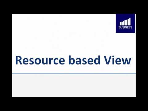 Resource based View (deutsch) - strategisches Management