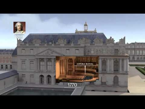notre visite au ch teau de versailles youtube. Black Bedroom Furniture Sets. Home Design Ideas
