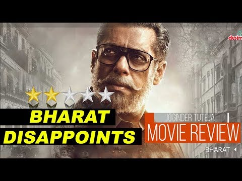 BHARAT Movie Review  Salman Khan  Katrina Kaif TutejaTalks
