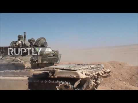 Syria: SAA declares eastern countryside of Palmyra IS-free