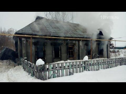 Пожар в Инсарском районе вновь унес жизнь