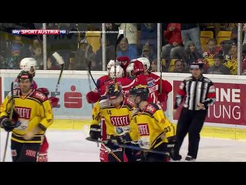 Erste Bank Eishockey Liga 17/18, Runde 31: EC KAC - Vienna Capitals 7:5