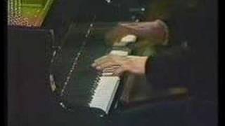 It is a video when winning the championship the Chopin contest.