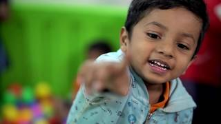 How #children spend their day at Oi Playschool