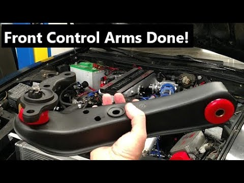 Ep.92 300zx Turbo Build Z31 Front Control Arms ( Part 20 )