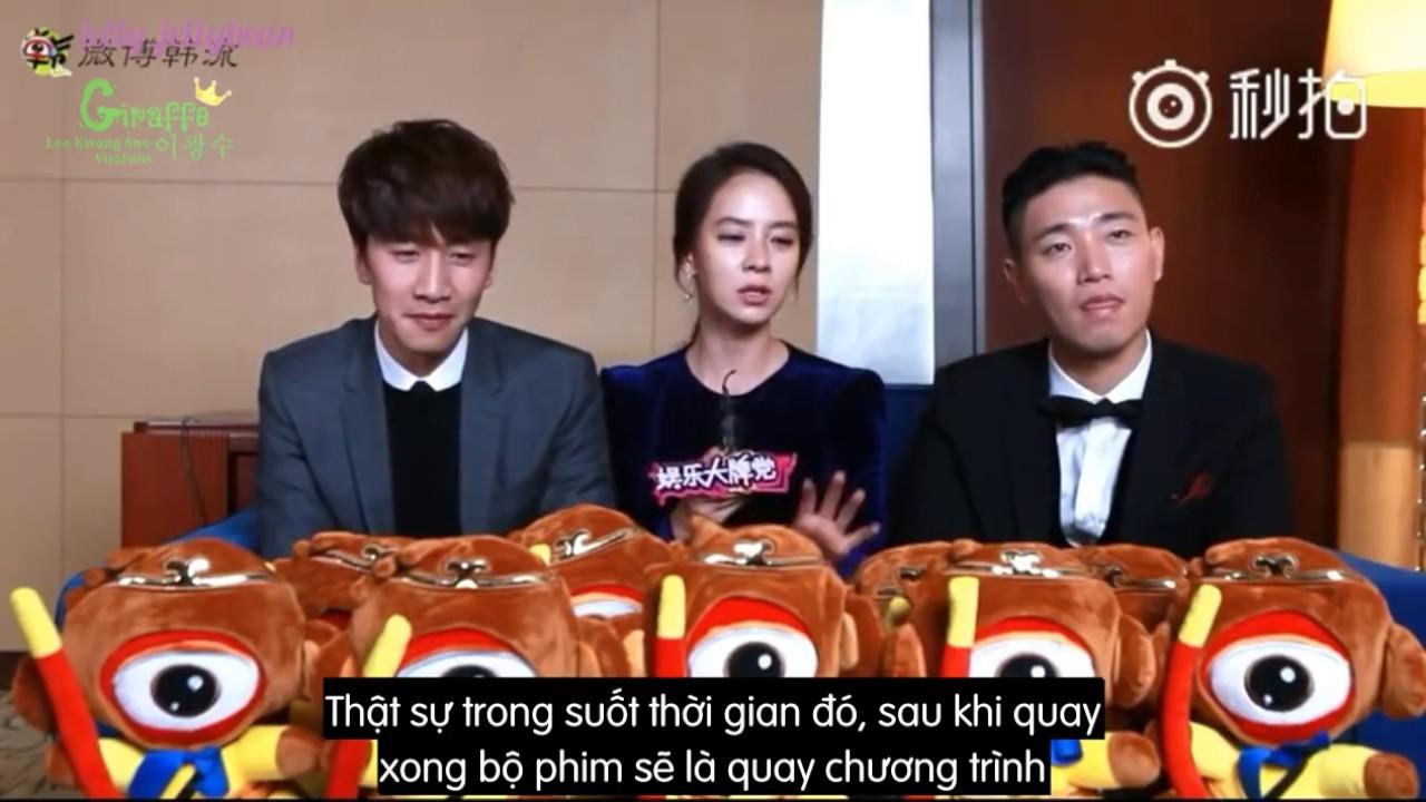 VIETSUB Phỏng vấn Lee Kwang Soo, Song Ji Hyo, Kang Gary Running Man