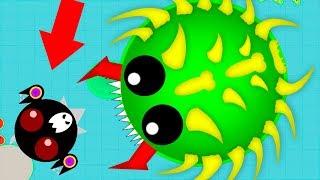 НЕПОБЕДИМЫЙ СКИН!!! КАК НУЖНО ИГРАТЬ В Mope.io. Игра как мультик для детей.