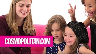 Little Girls Give Women Texting Advice | Cosmopolitan