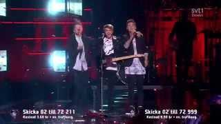Building It Up - JTR (Final Melodifestivalen 2015) with Lyrics HD